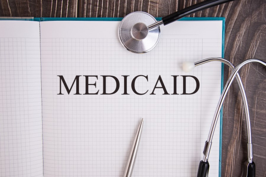 An Image displaying Medicaid on the table