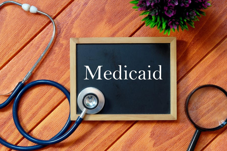 A Sign showing Medicaid